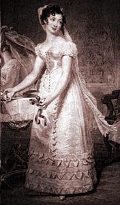 1827 Wedding Dress