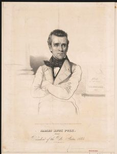 Polk elected 1844, Tennessee politics, Tennessee history, culture and more from the Tennessee Historical Society.