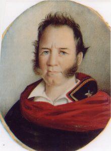 Sam Houston in 1836