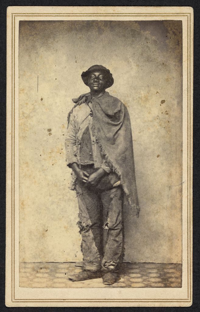Civil War Tennessee, Tennessee history and culture, an enslaved man escaped across federal lines during the Civil War.